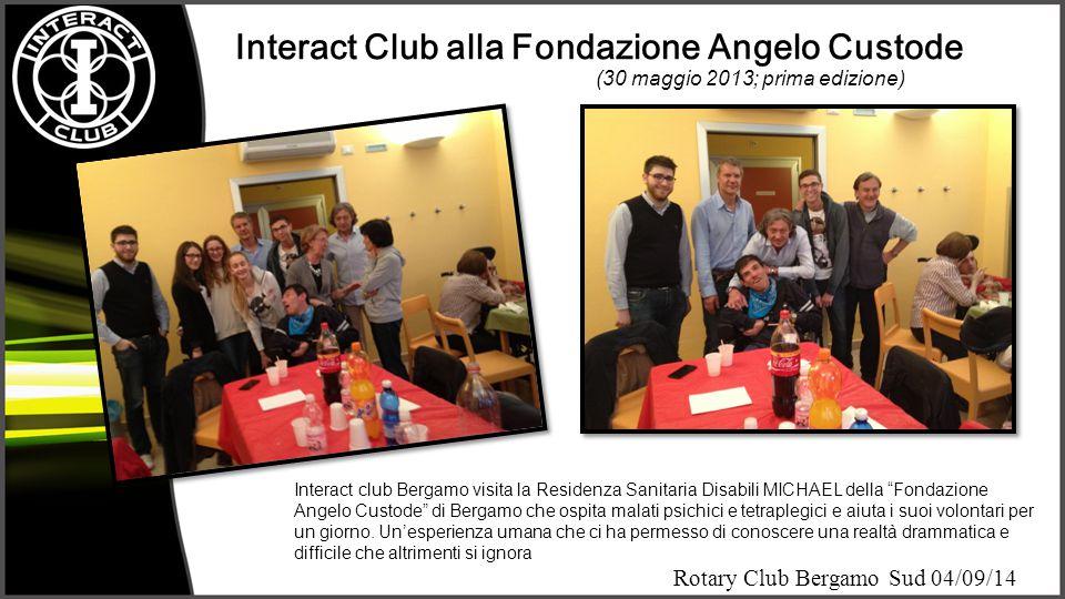Interact Club alla Fondazione Angelo Custode