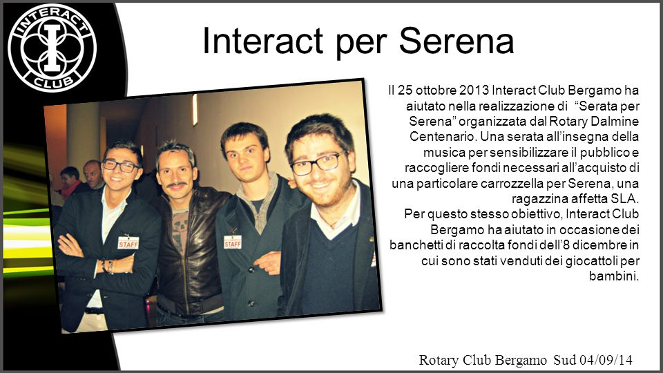 Interact per Serena