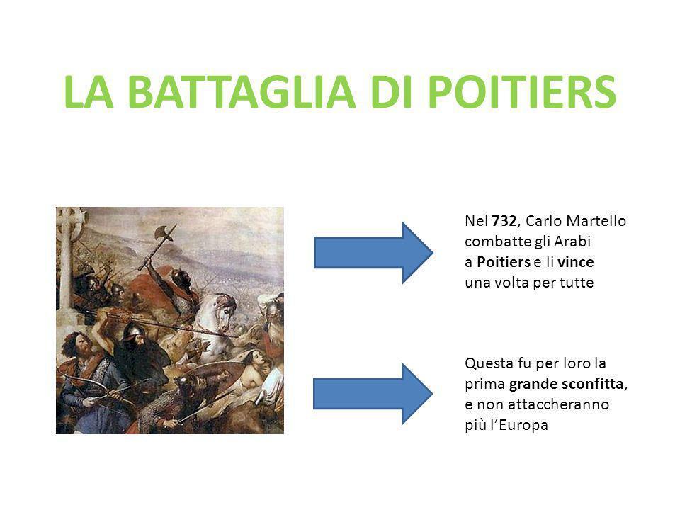 LA BATTAGLIA DI POITIERS