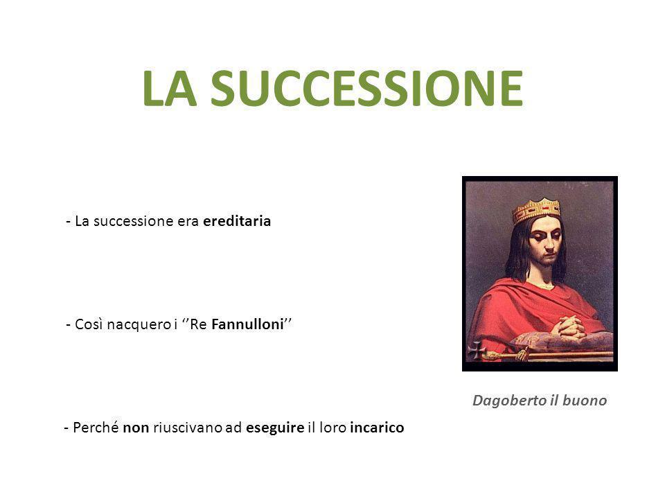 LA SUCCESSIONE - La successione era ereditaria