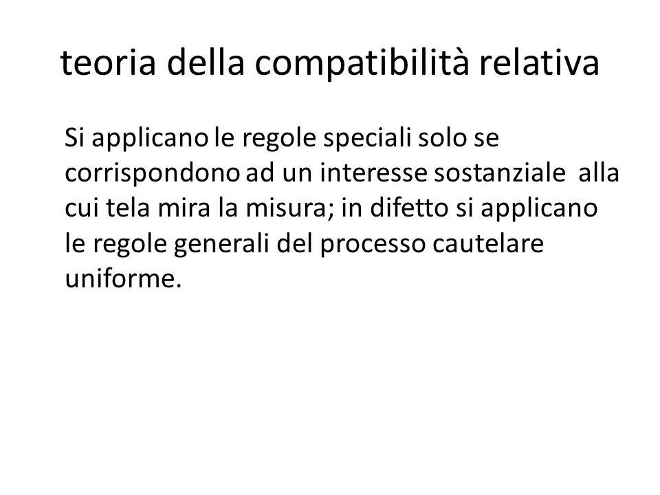 teoria della compatibilità relativa
