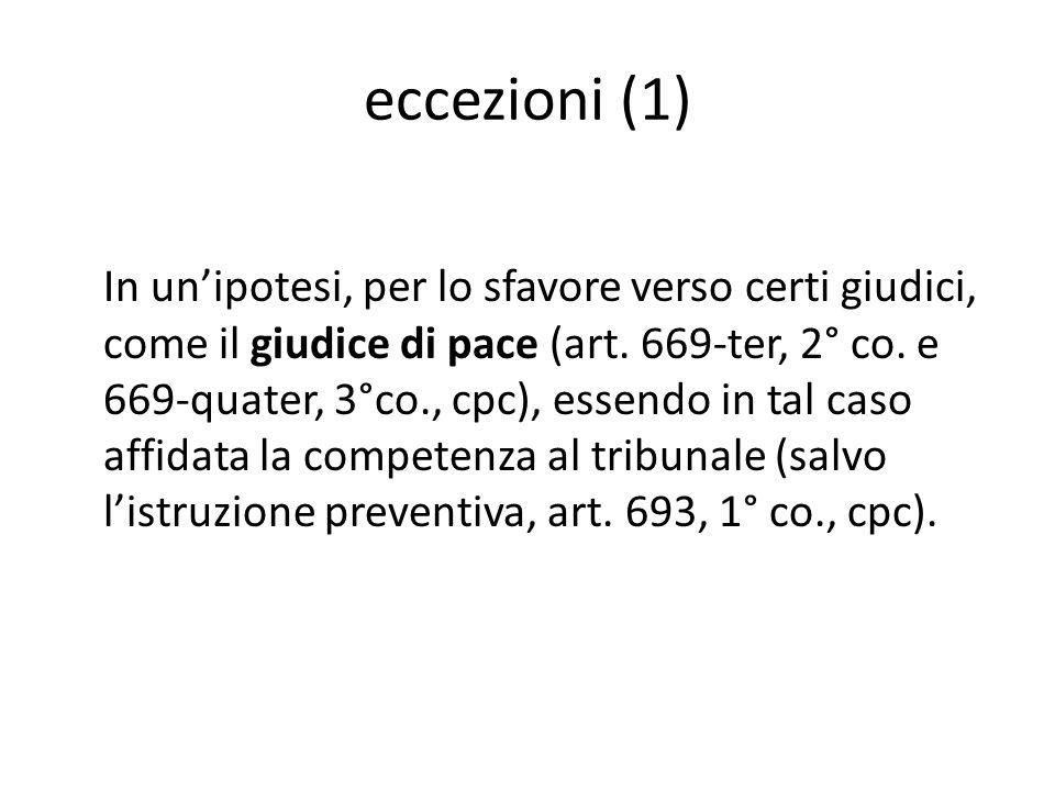 eccezioni (1)
