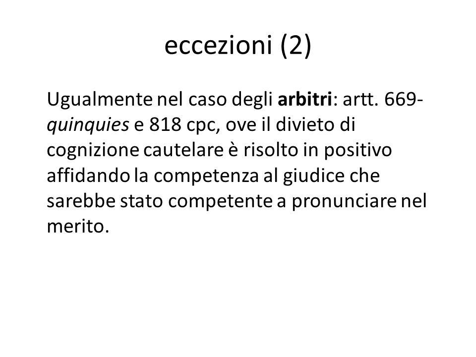 eccezioni (2)