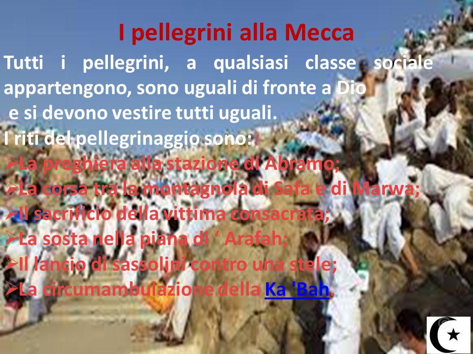 I pellegrini alla Mecca
