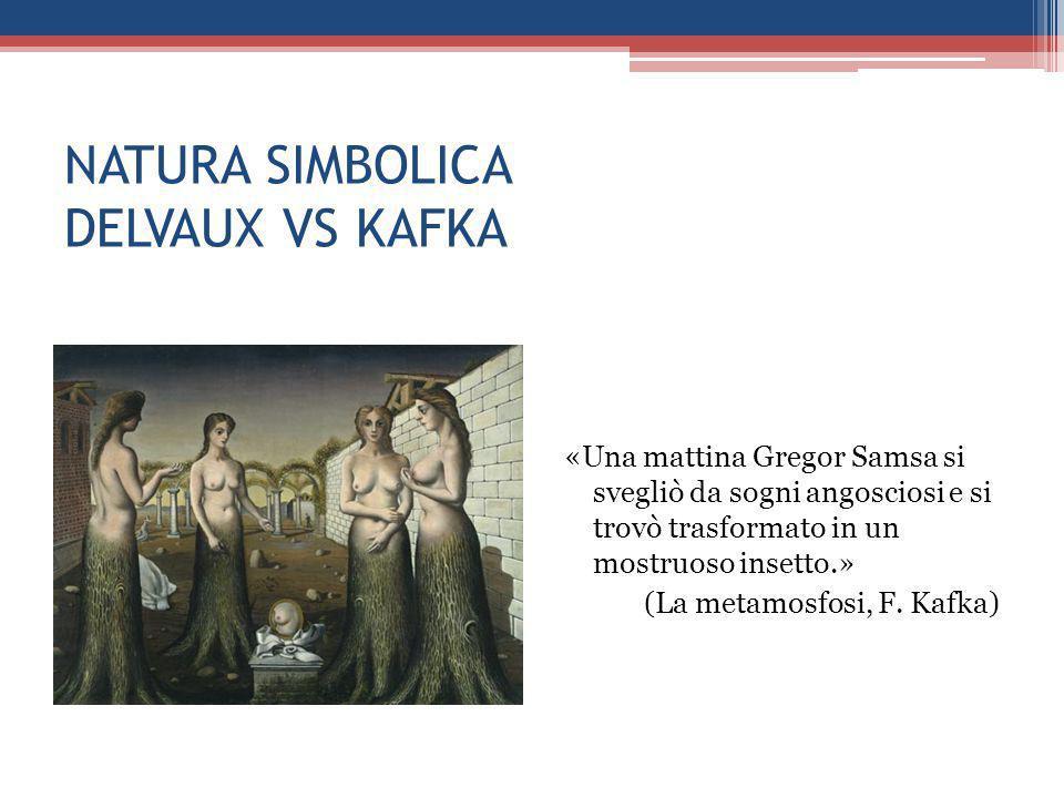 NATURA SIMBOLICA DELVAUX VS KAFKA