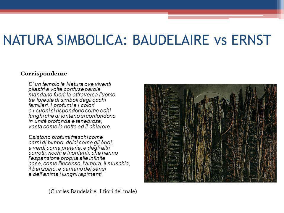 NATURA SIMBOLICA: BAUDELAIRE vs ERNST