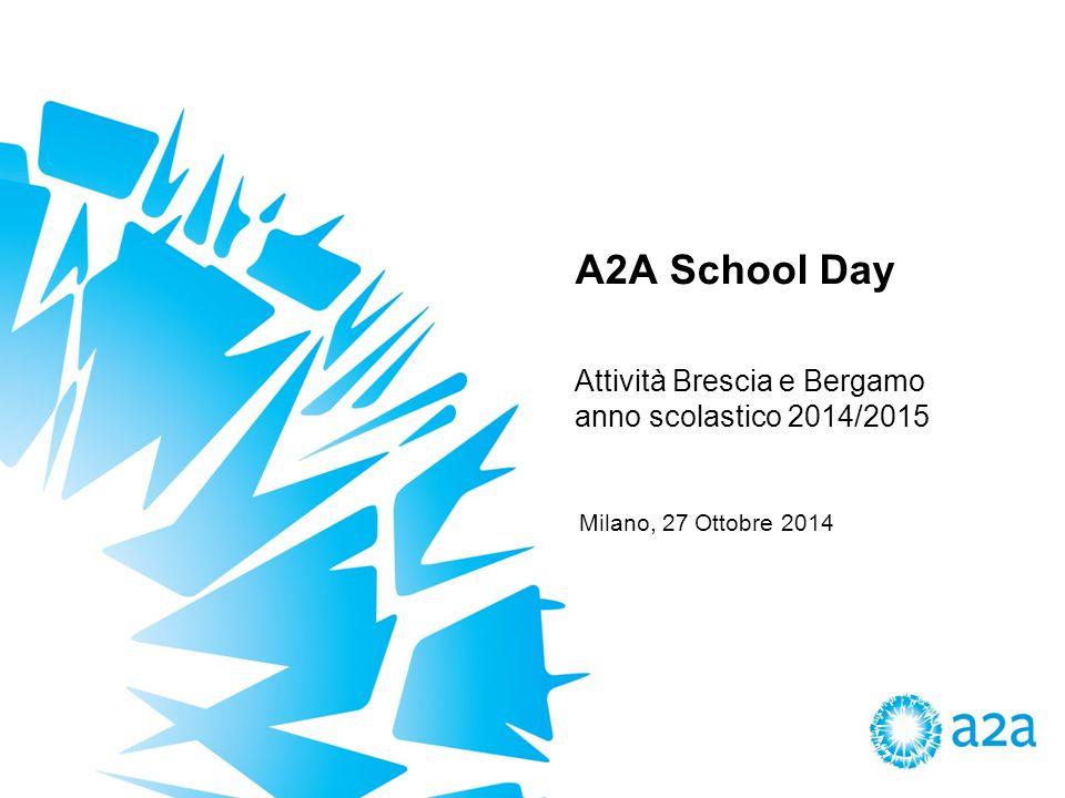 Attività Brescia e Bergamo anno scolastico 2014/2015