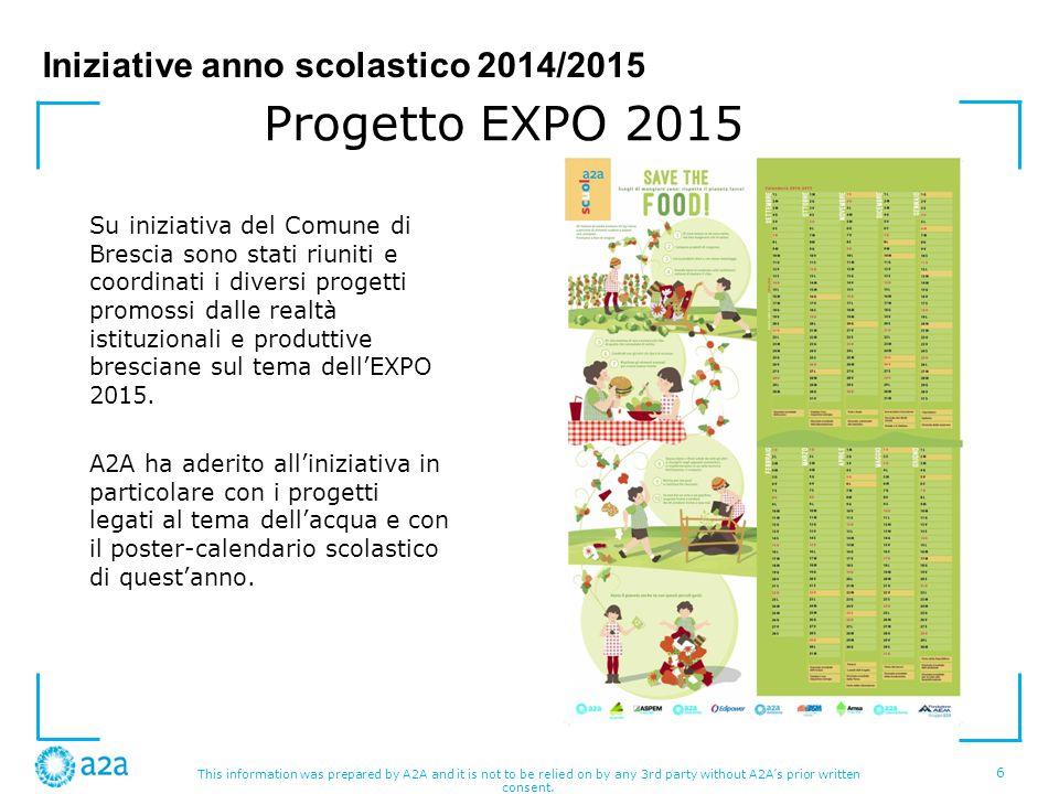 Iniziative anno scolastico 2014/2015