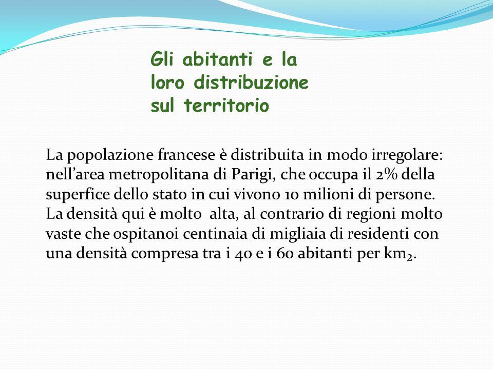 Gli abitanti e la loro distribuzione sul territorio