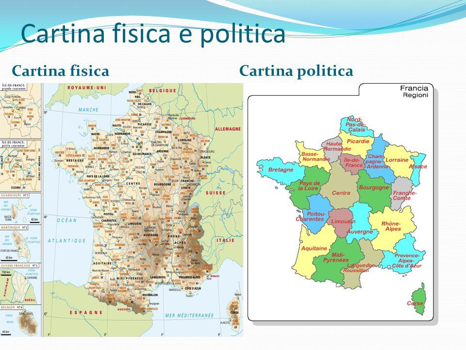 Cartina fisica e politica