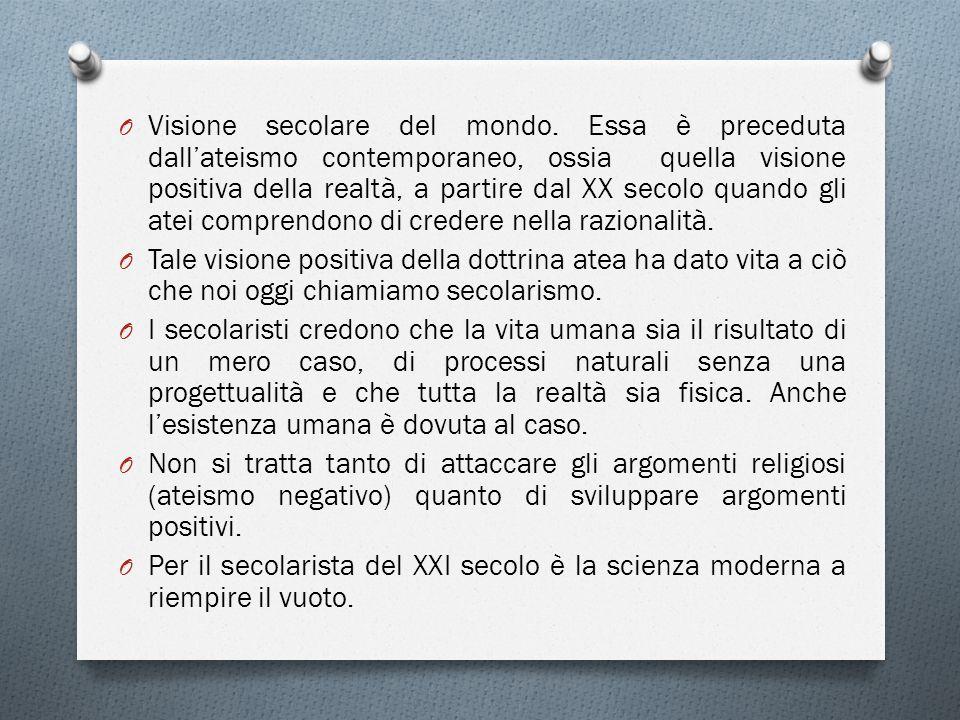 Visione secolare del mondo