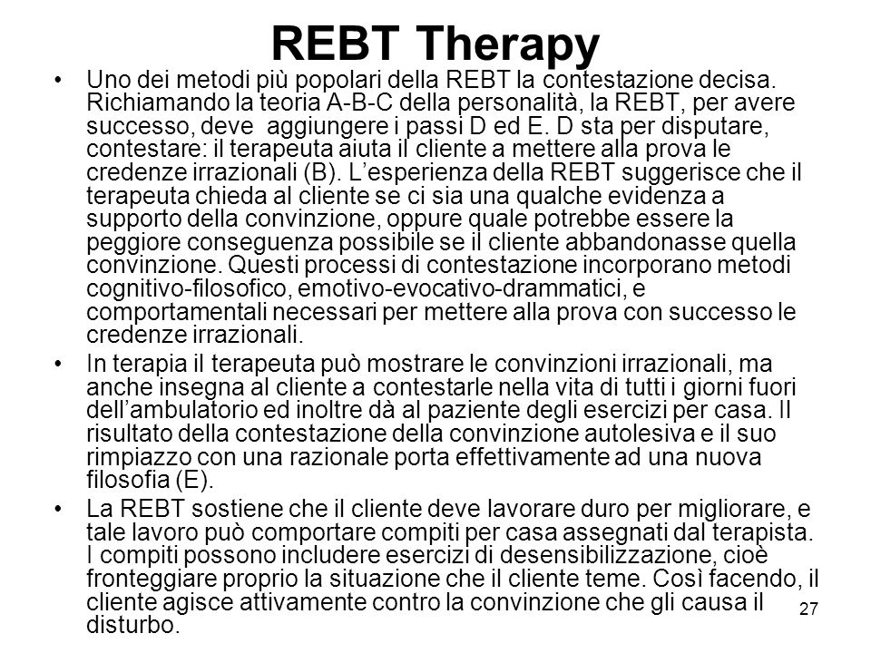 REBT Therapy