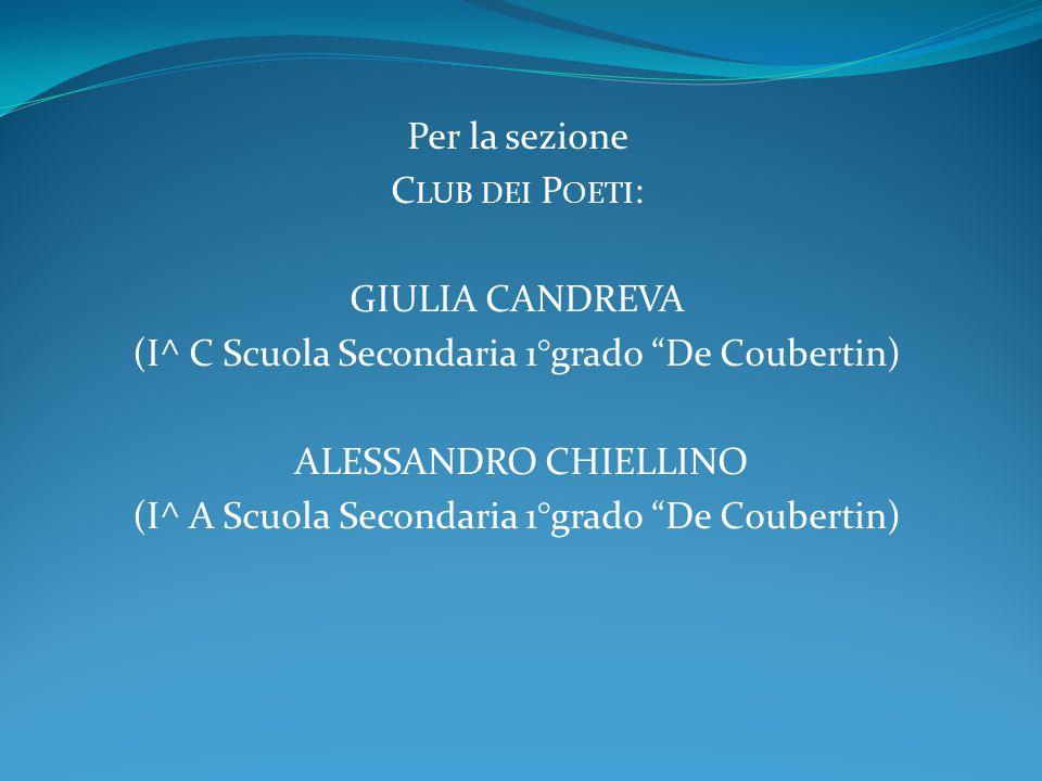 (I^ C Scuola Secondaria 1°grado De Coubertin) Alessandro Chiellino