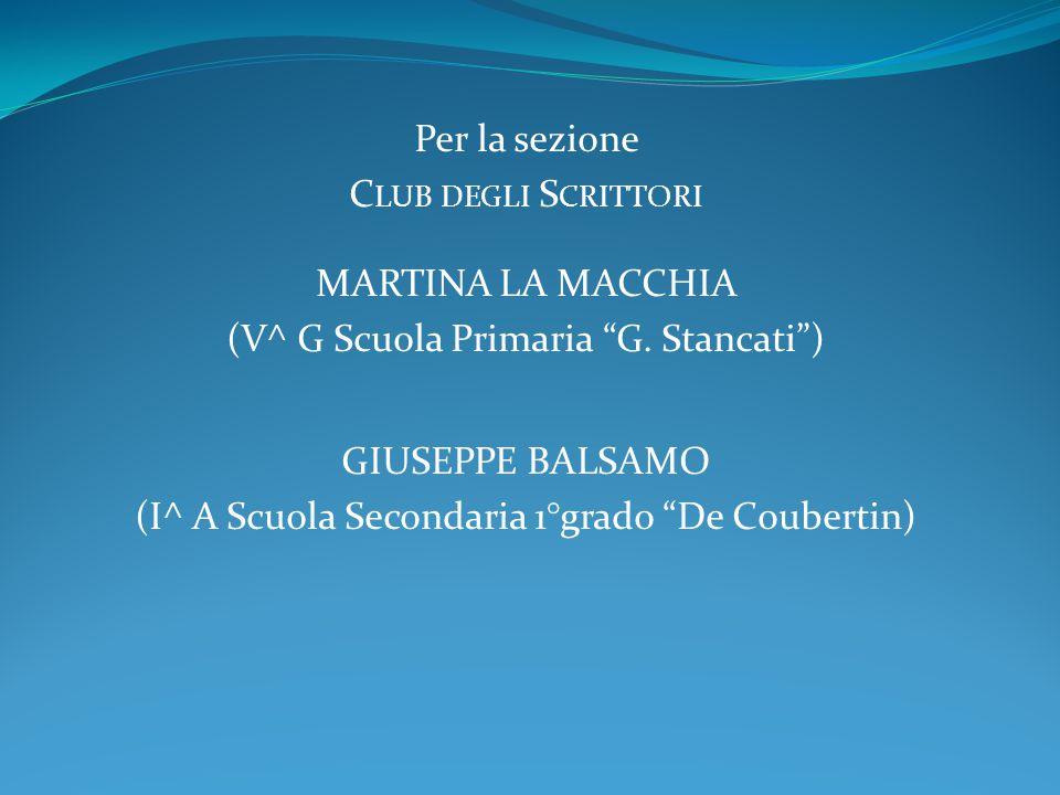 (V^ G Scuola Primaria G. Stancati )