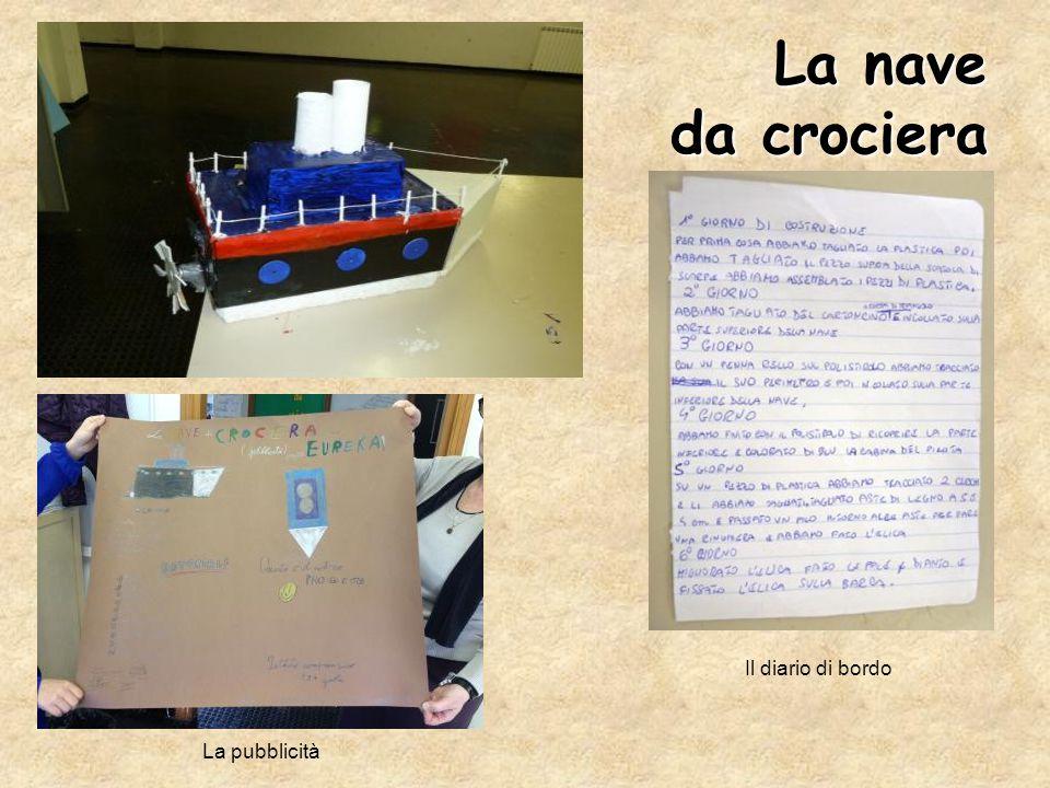 La nave da crociera Il diario di bordo La pubblicità