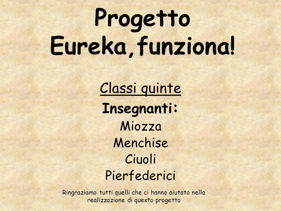 Progetto Eureka,funziona!