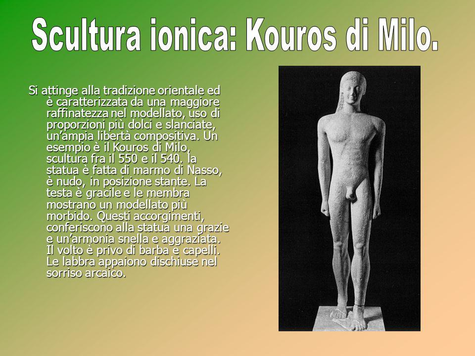 Scultura ionica: Kouros di Milo.