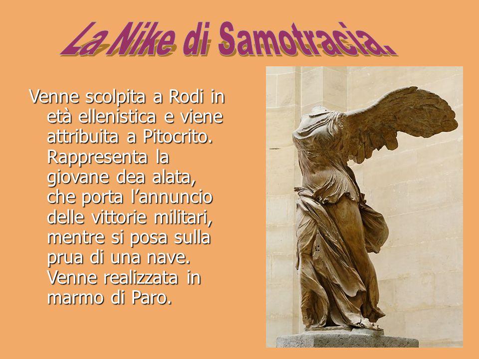 La Nike di Samotracia.