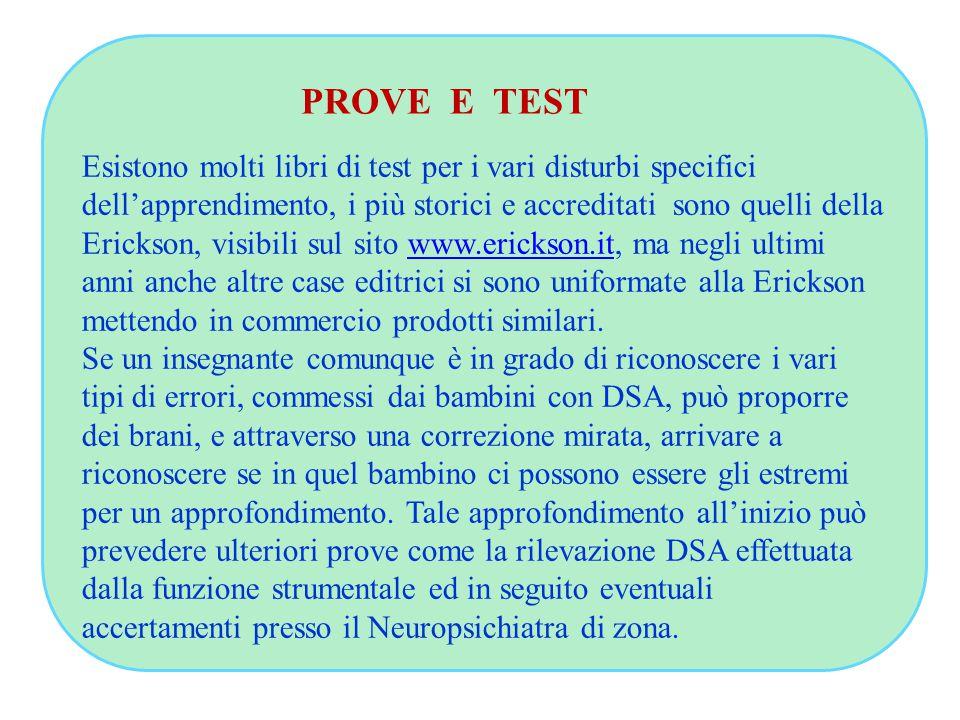 PROVE E TEST