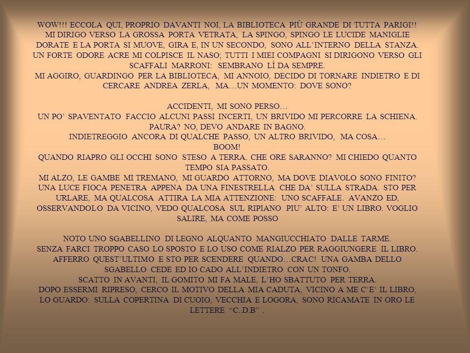 WOW!!. ECCOLA QUI, PROPRIO DAVANTI NOI, LA BIBLIOTECA PIÙ GRANDE DI TUTTA PARIGI!.