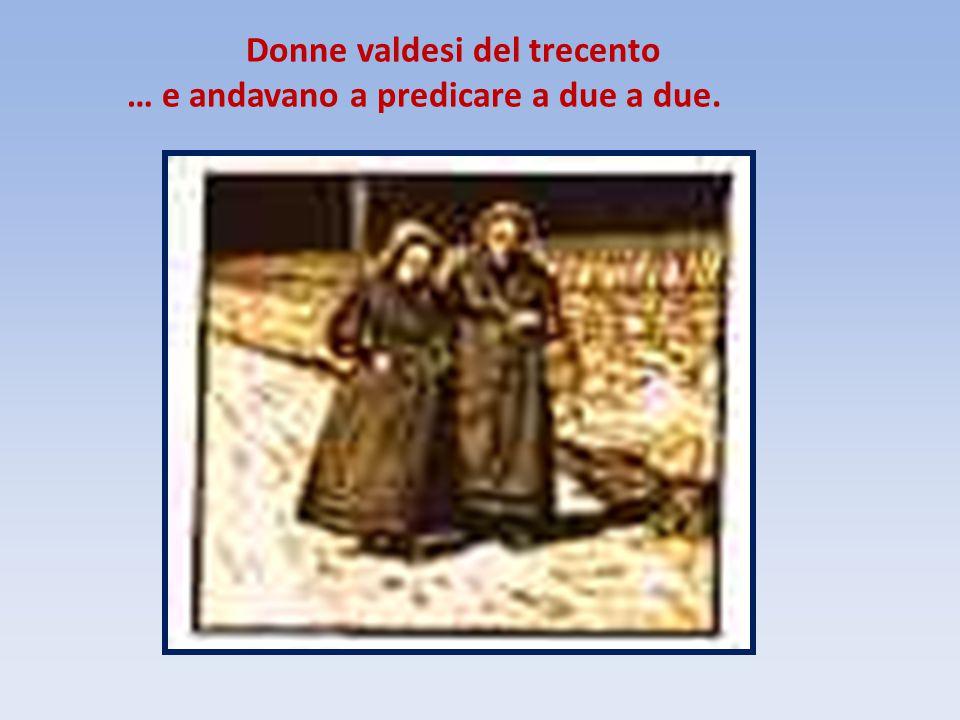 Donne valdesi del trecento