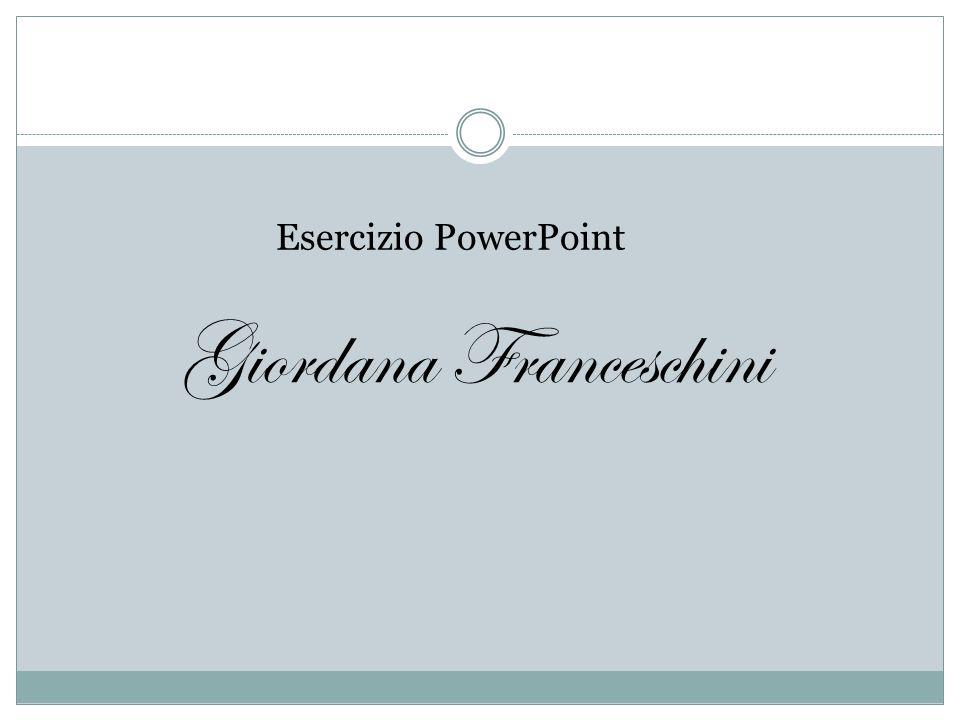 Giordana Franceschini