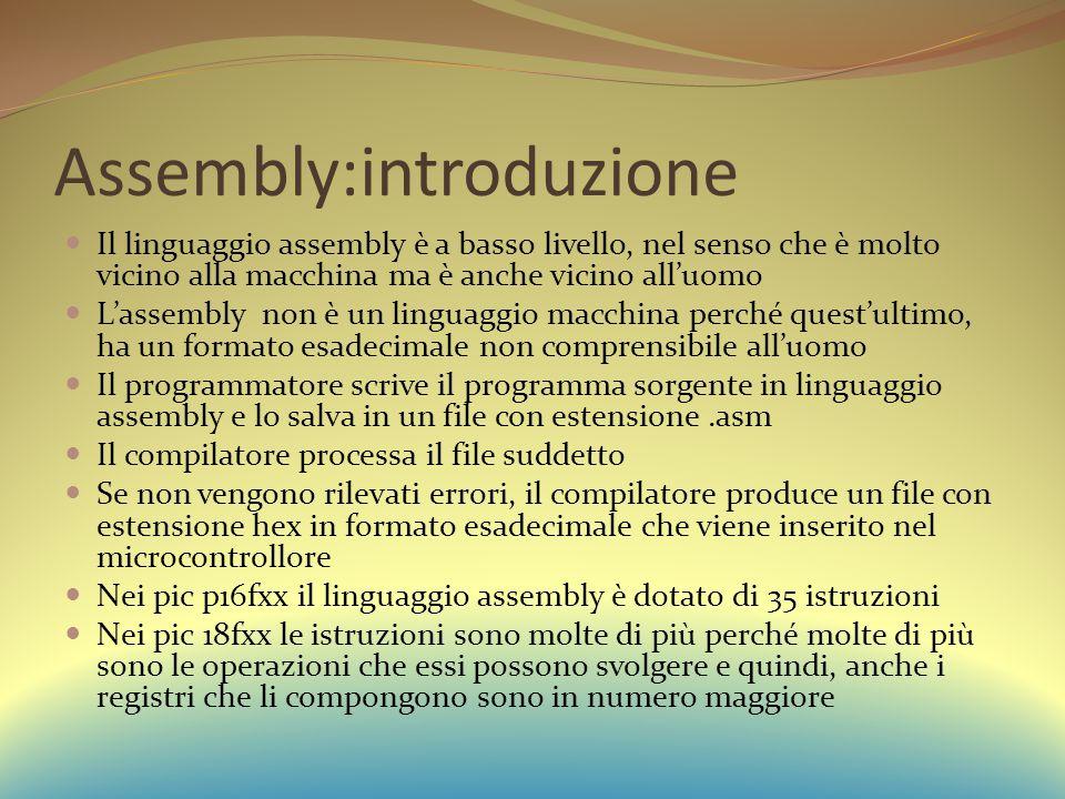 Assembly:introduzione