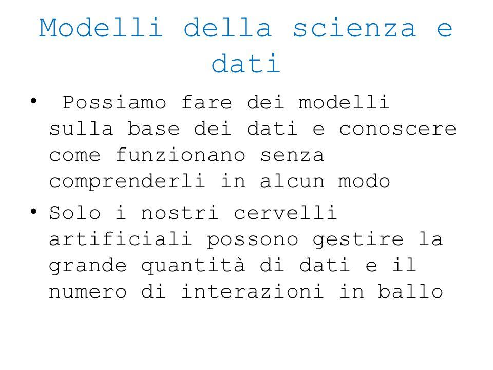 Modelli della scienza e dati