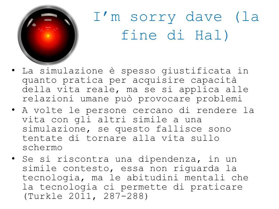 I'm sorry dave (la fine di Hal)