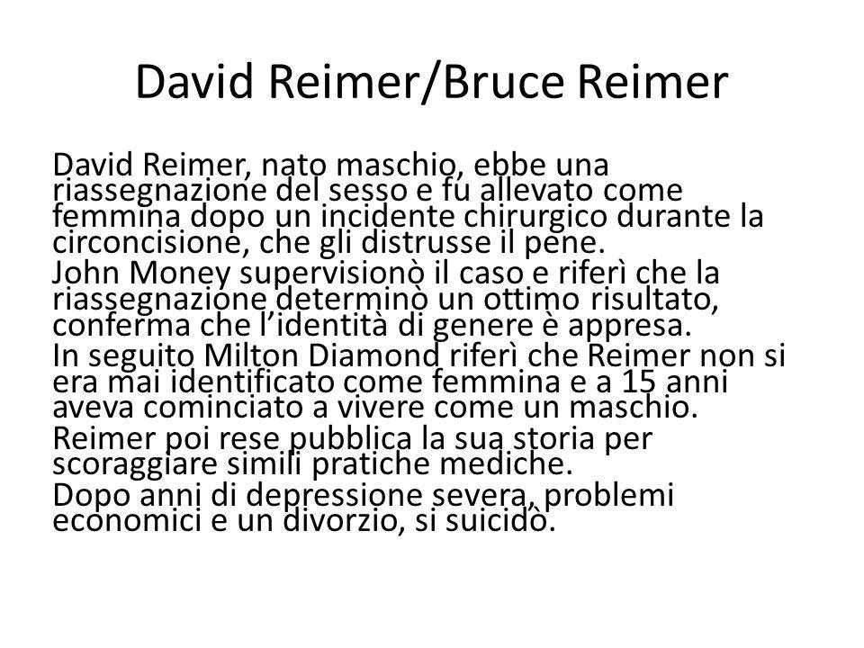 David Reimer/Bruce Reimer