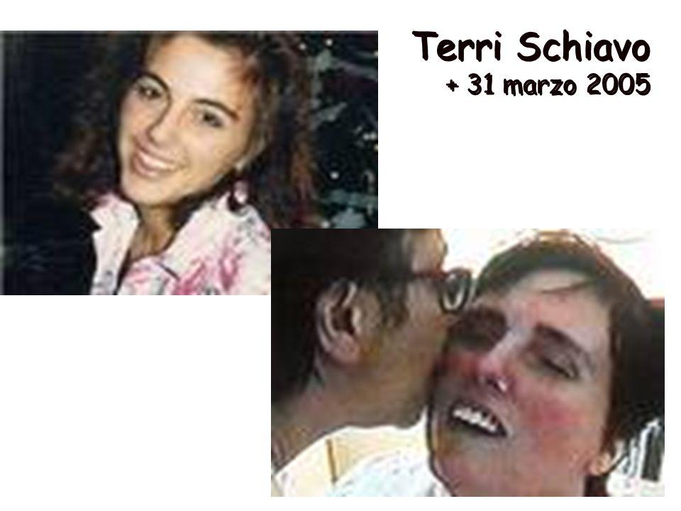 Terri Schiavo + 31 marzo 2005