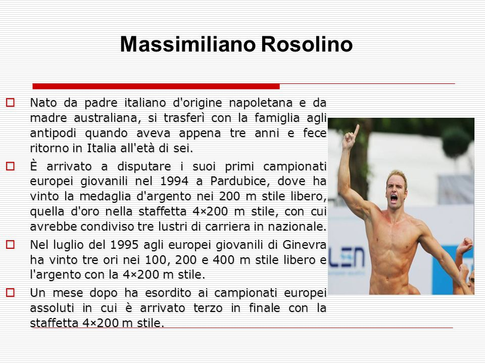 Massimiliano Rosolino