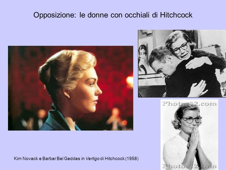 Opposizione: le donne con occhiali di Hitchcock