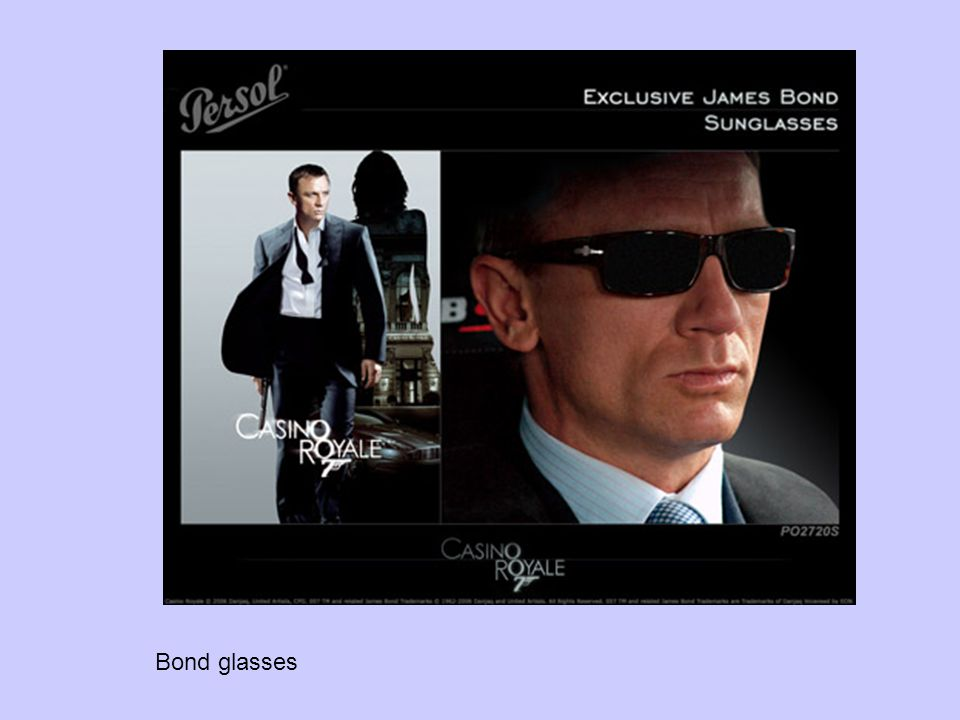 Bond glasses