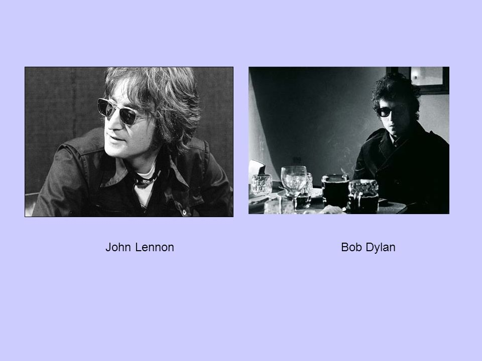 John Lennon Bob Dylan