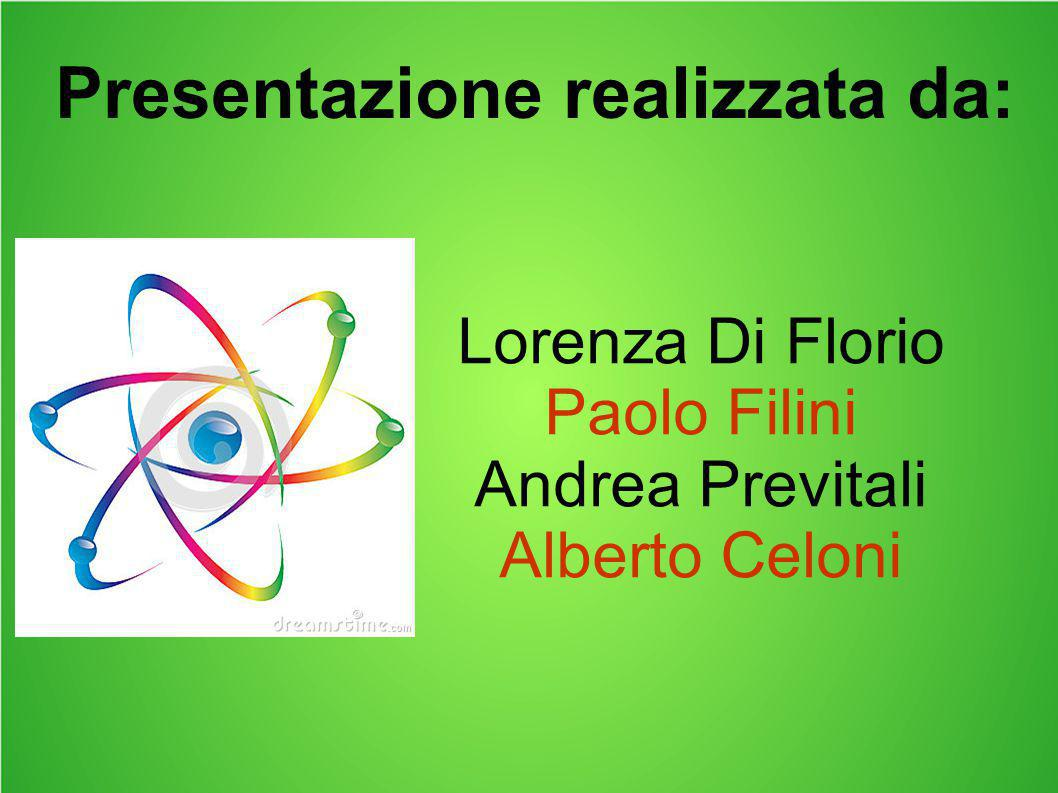 Lorenza Di Florio Paolo Filini Andrea Previtali Alberto Celoni