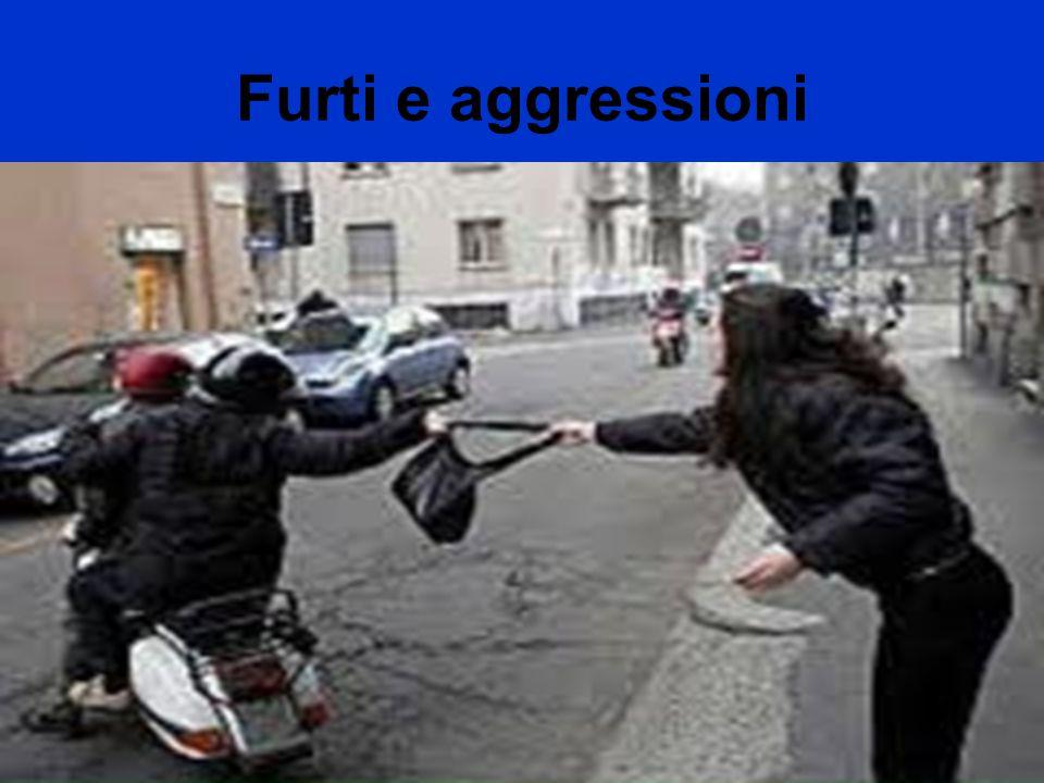 Furti e aggressioni