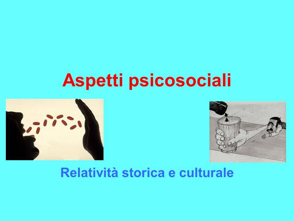Relatività storica e culturale