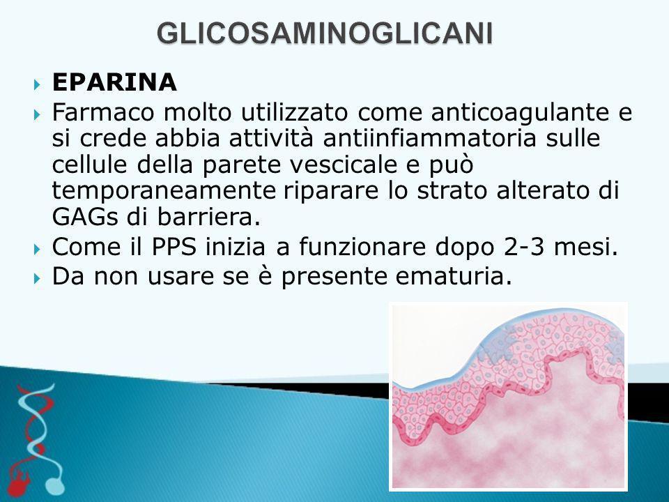 GLICOSAMINOGLICANI EPARINA