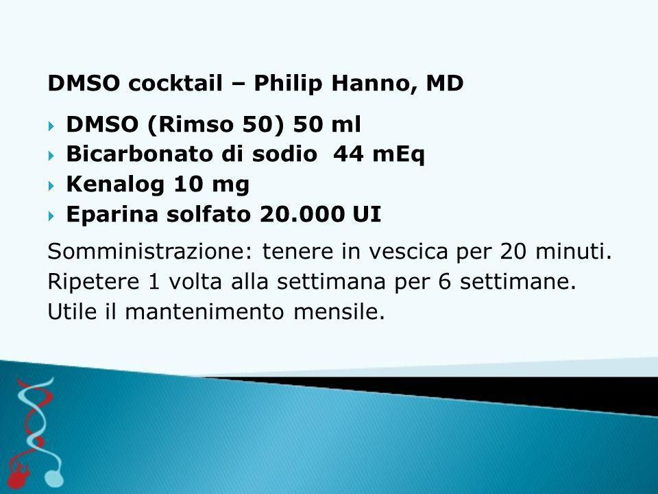 DMSO cocktail – Philip Hanno, MD
