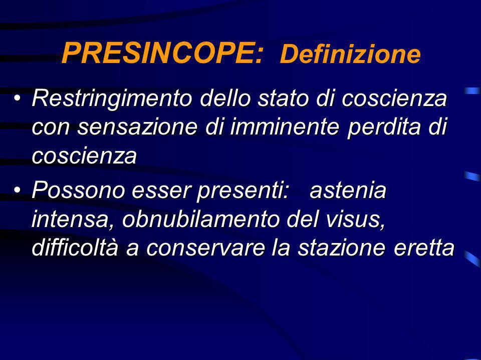 PRESINCOPE: Definizione