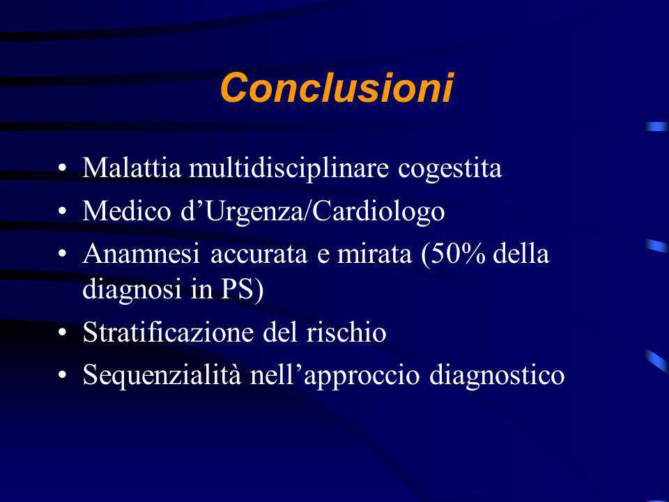 Conclusioni Malattia multidisciplinare cogestita