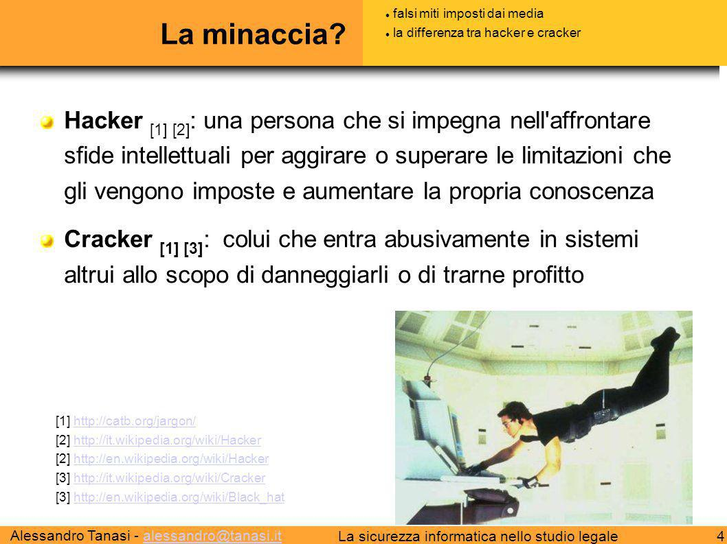 La minaccia falsi miti imposti dai media. la differenza tra hacker e cracker.