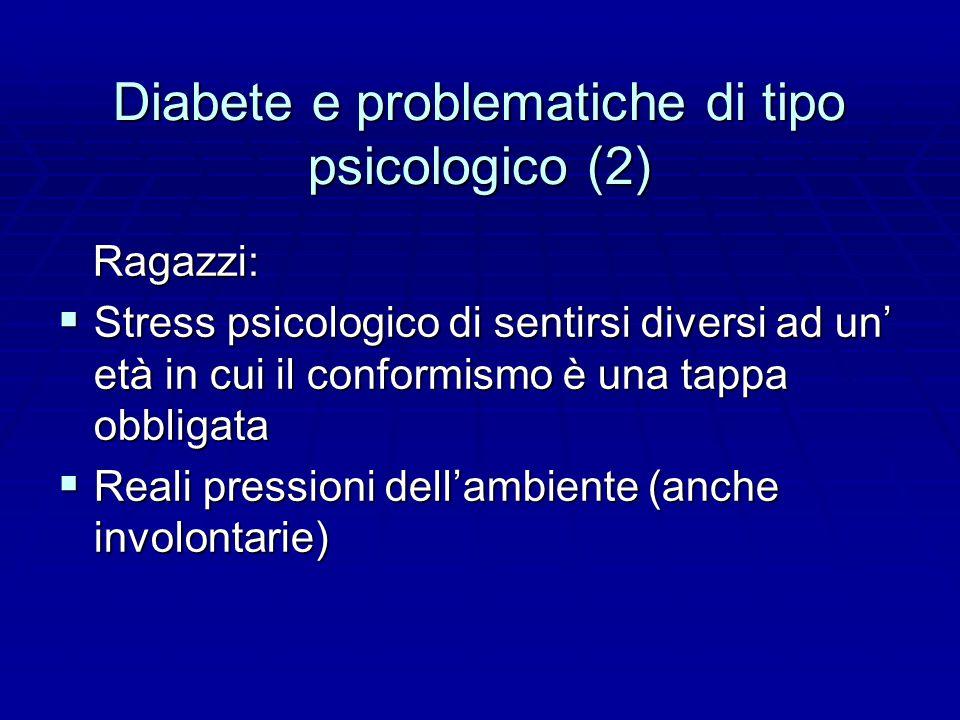 Diabete e problematiche di tipo psicologico (2)