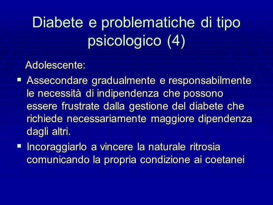 Diabete e problematiche di tipo psicologico (4)