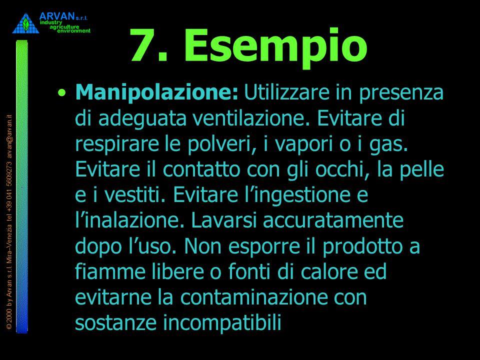 7. Esempio