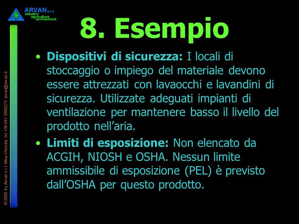 8. Esempio