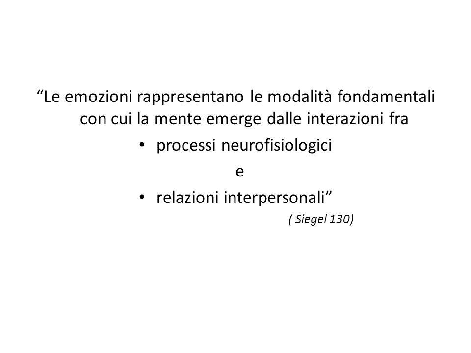 processi neurofisiologici e relazioni interpersonali