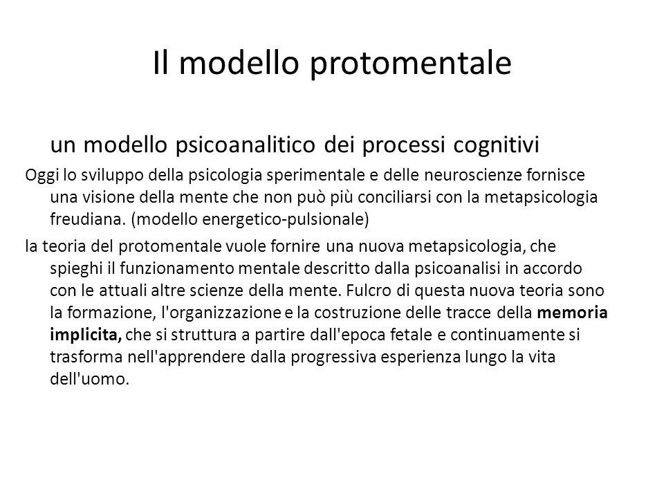 Il modello protomentale