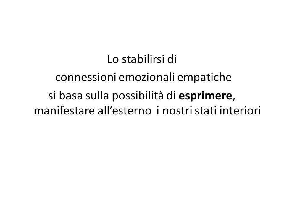 connessioni emozionali empatiche